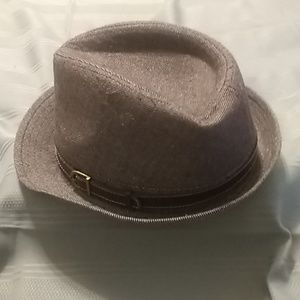 Brown Buckle Fedora